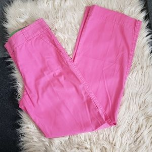 LILLY PULITZER cotton pink pants 6